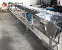 15cm带宽食品级皮带输送机厂家定制非标产品