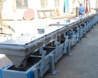摆杆输送机5-10米长弹性连杆输送轻型输送1-5m³/h