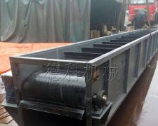 带挡板皮带输送机:带宽650mm,地瓜皮带机